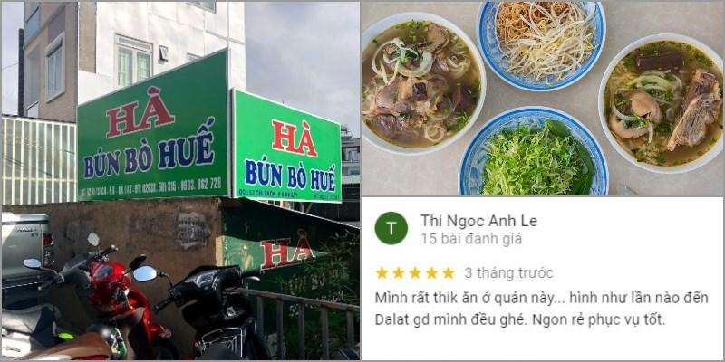 Quán Bún Bò Hà - Bún Bò Thi Sách