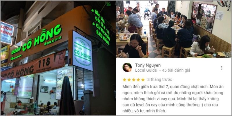 Nhà hàng Quán Cô Hồng - Gỏi Cá Nam Ô