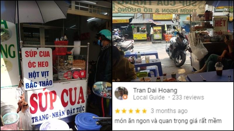 Quán Súp Cua Trang