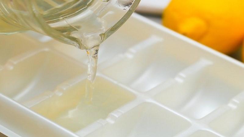 Cách bảo quản nước cốt chanh