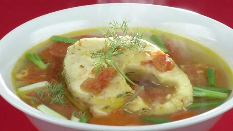 Canh cá lóc nấu mẻ