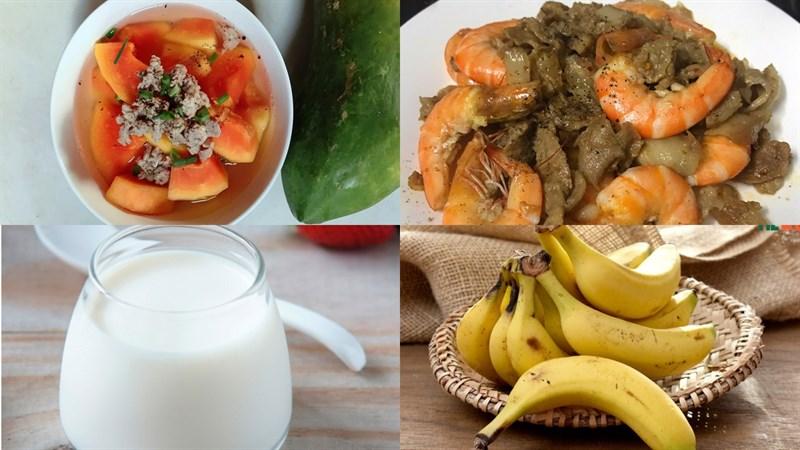 Mâm cơm giàu Vitamin A