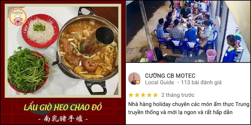 Nhà hàng Holiday - Món Ngon Trung Hoa