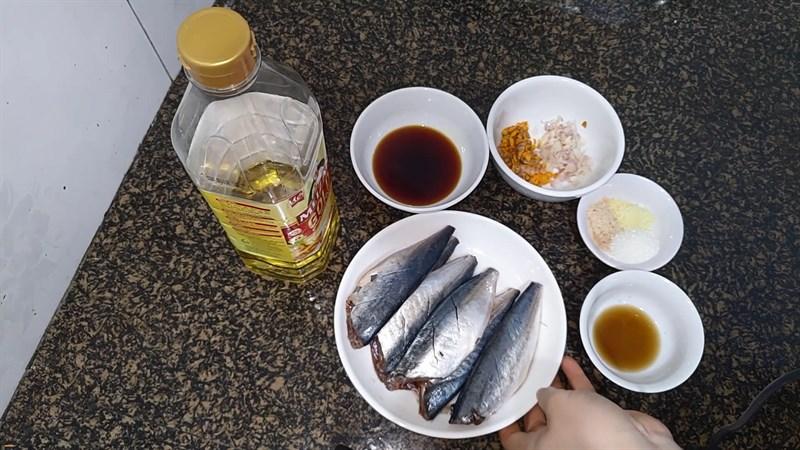 Nguyên liệu món ăn cá nục kho gừng và kho nghệ