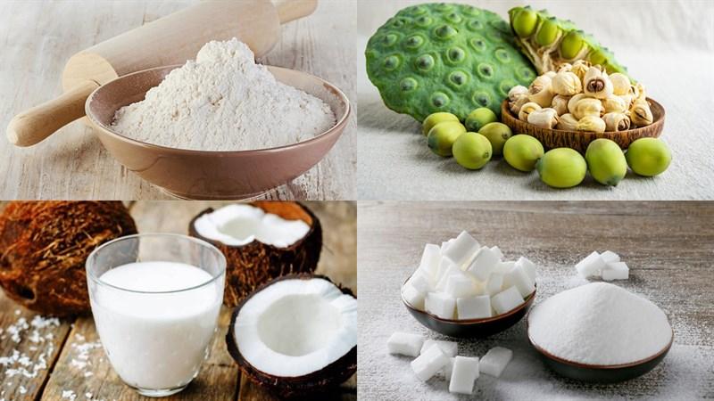Nguyên liệu món ăn 2 cách làm bánh xu xê truyền thống