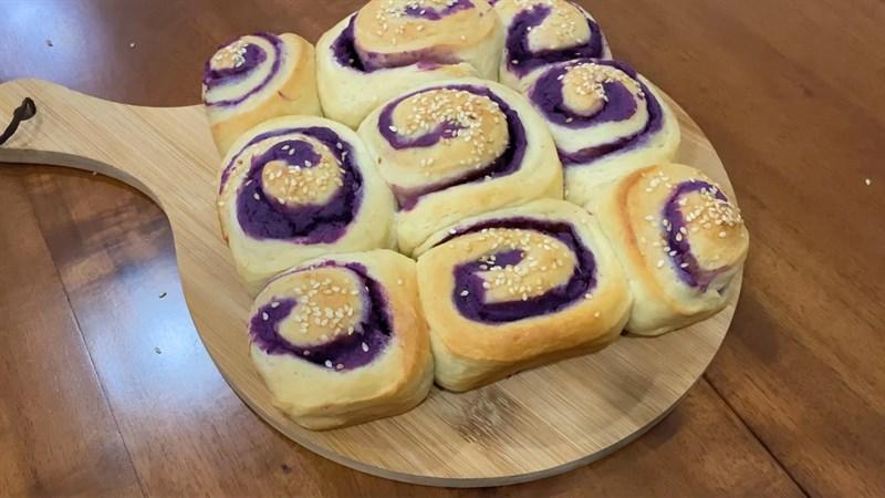 Bánh mì khoai lang tím