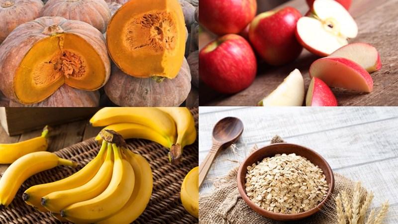 Nguyên liệu món ăn sinh tố bí đỏ
