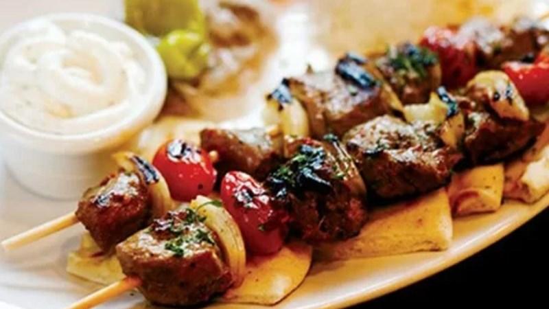 Thịt cừu xiên nướng