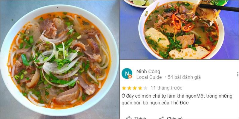 Quán Bún Bò Huế Đông Ba