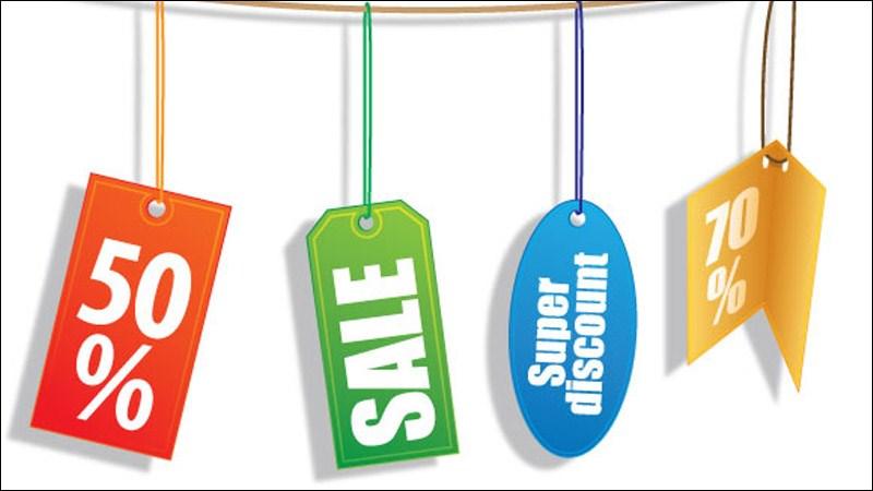 Mua trữ hàng khi có đợt giảm giá