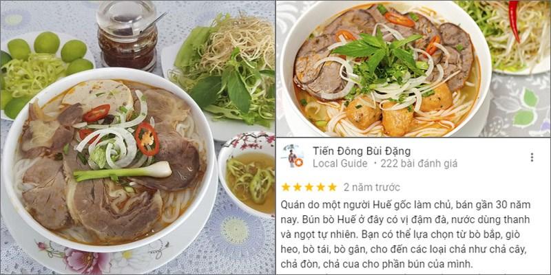 Quán Bún Bò Huế Hạnh
