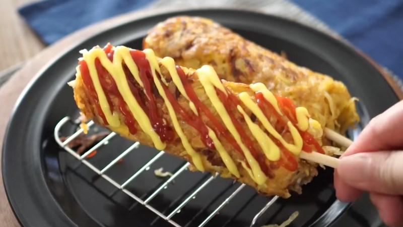 Hotdog khoai tây