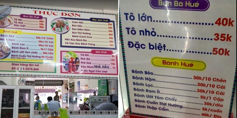 Quán Bún Bò Huế Ngự Bình