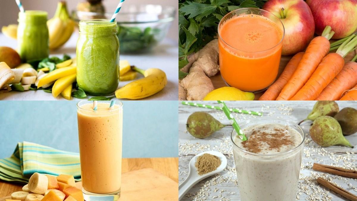 Các loại sinh tố giảm cân