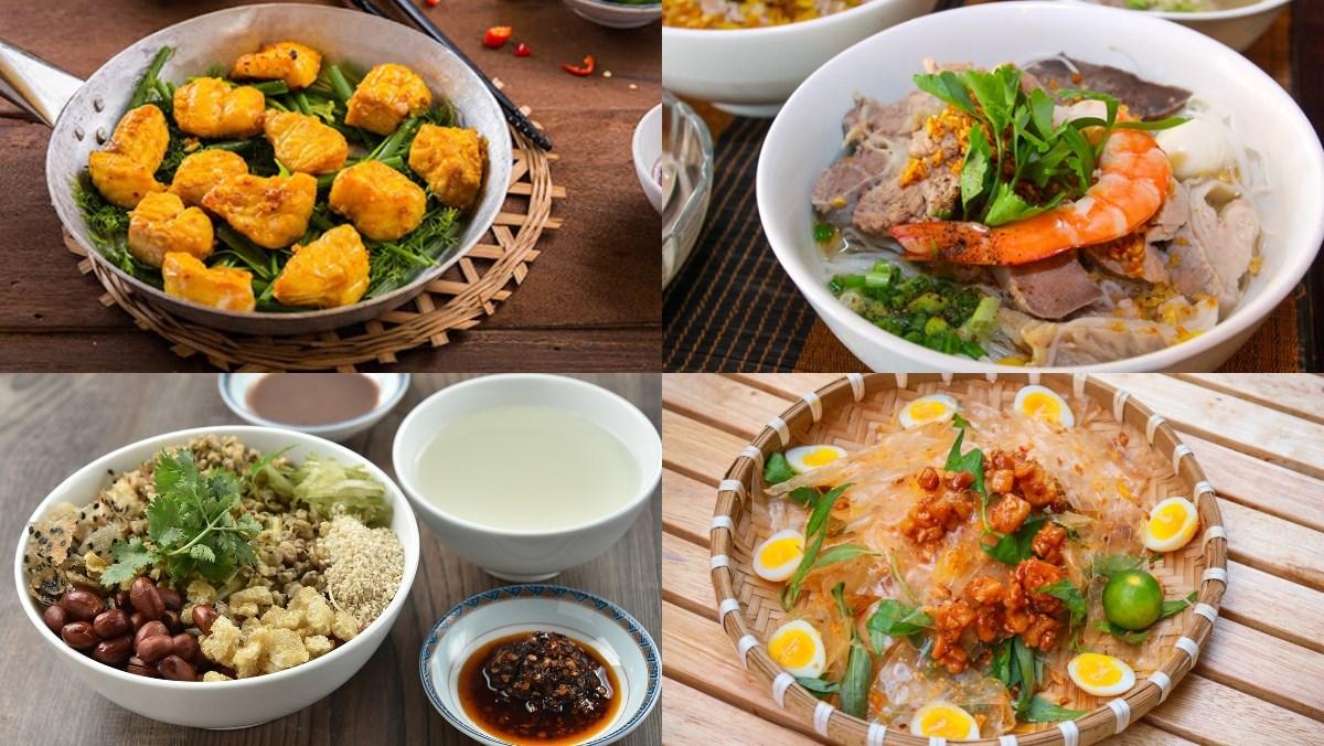Top 30 món ăn đặc sản ba miền