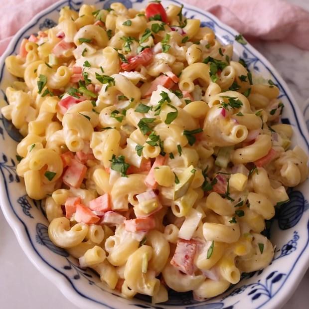 Salad nui trộn - macaroni salad