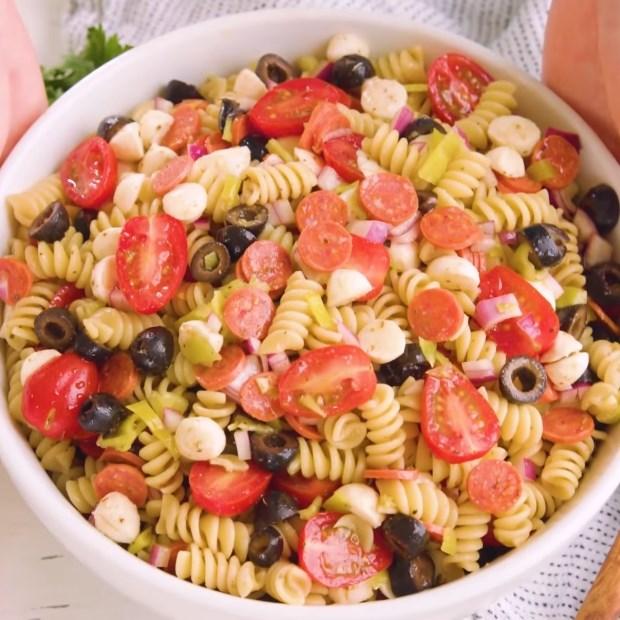 3 cách làm salad pasta
