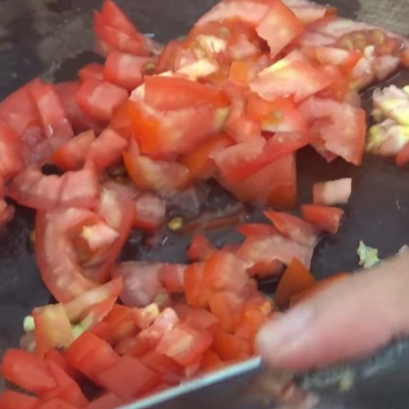 Bước 5 Làm sốt cà chua Lưỡi bò nấu lagu