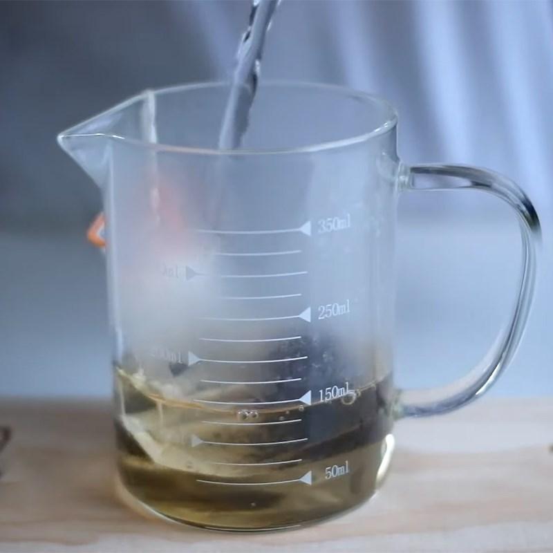 Bước 1 Nấu trà Trà sữa milo
