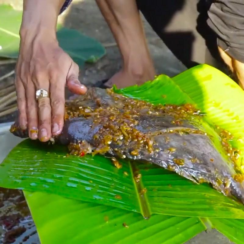 Bước 3 Nướng cá Cá mặt trời nướng