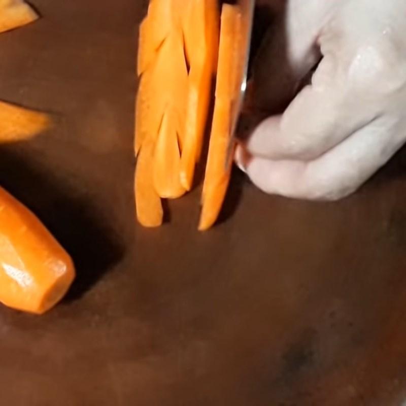 Bước 1 Sơ chế các nguyên liệu Nấm rơm hấp sả đậu hũ
