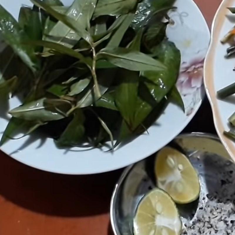 Bước 4 Thành phẩm Nấm rơm hấp sả đậu hũ