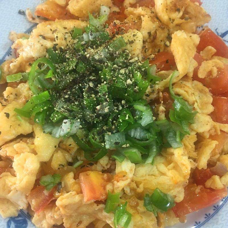 Bước 3 Thành phẩm Trứng xào cà chua
