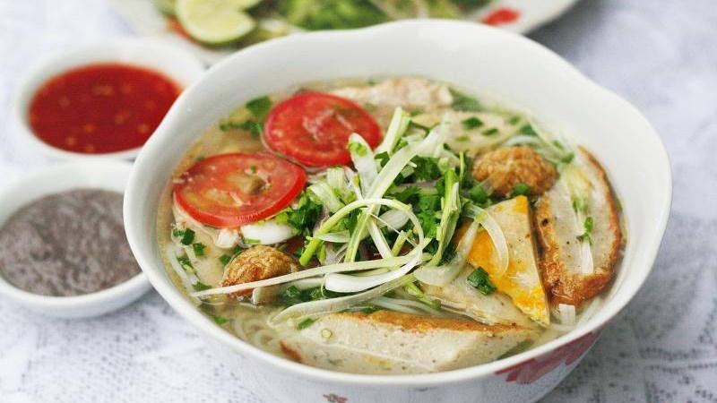 Bún cá dầm - Nha Trang