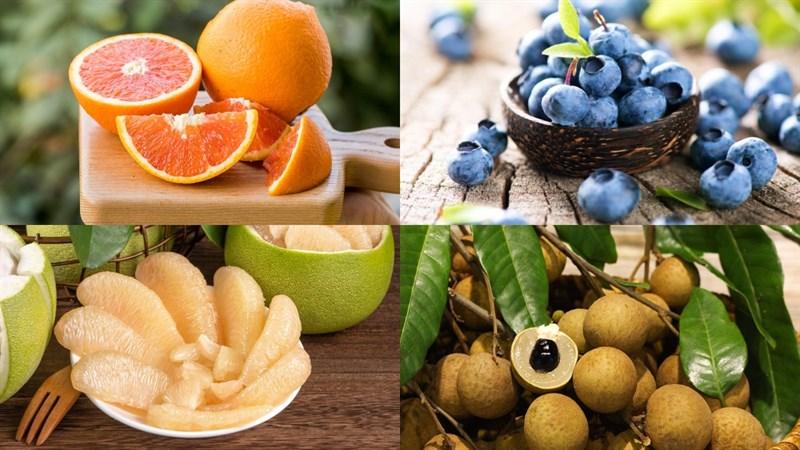 Nguyên liệu món ăn thạch rau câu viên bi hoa quả