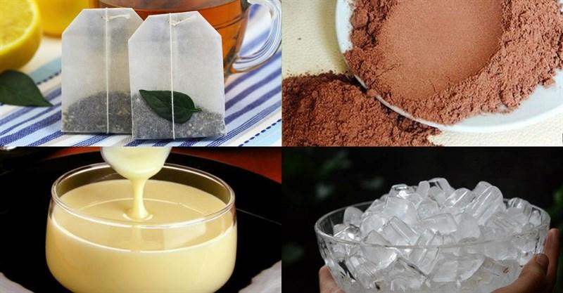 Nguyên liệu món ăn trà sữa milo