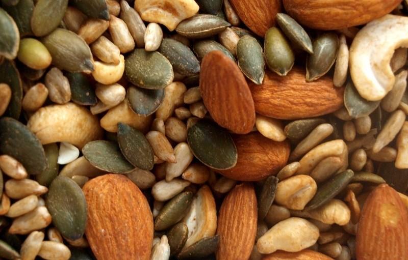 Các loại hạt, quả hạch