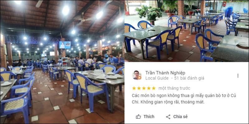 Quán Bò Tơ Tây Ninh Năm Sánh