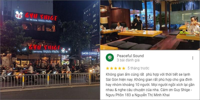 Nhà hàng Gyu Shige