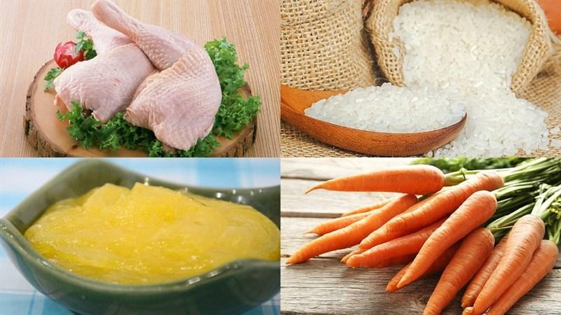 Nguyên liệu món ăn cơm gà nha trang