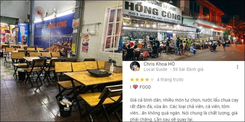 Quán Lẩu Xiên Que Tự Chọn Hồng Kông