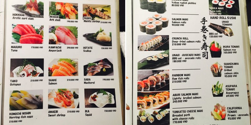 Nhà hàng Lá Phong Sushi House