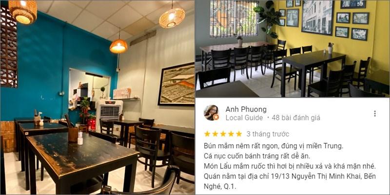 Nhà hàng Bún Mắm Nêm Cô Nổ
