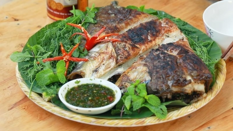 Cá nướng Pa Pỉnh Tộp