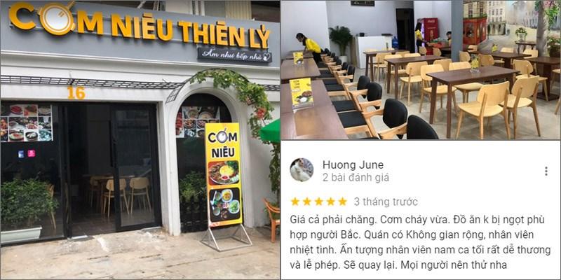Nhà hàng Cơm Niêu Thiên Lý