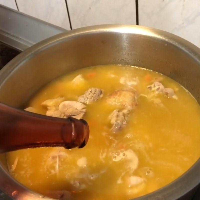 Bước 5 Hoàn thành Canh gà kiểu Trung Quốc