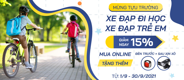 xe đạp - banner 1