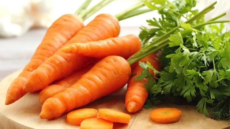 Cách chọn mua cà rốt tươi ngon