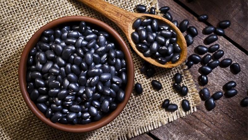 Đậu đen chứa hàm lượng chất xơ cao