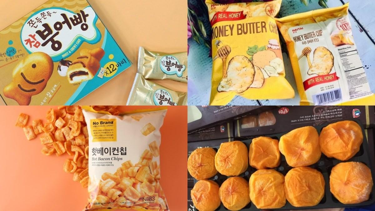 Đồ ăn vặt Hàn Quốc đóng gói