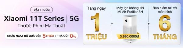 Đặt trước Xiaomi 11T Series