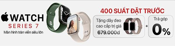 Đặt trước Apple Watch S7
