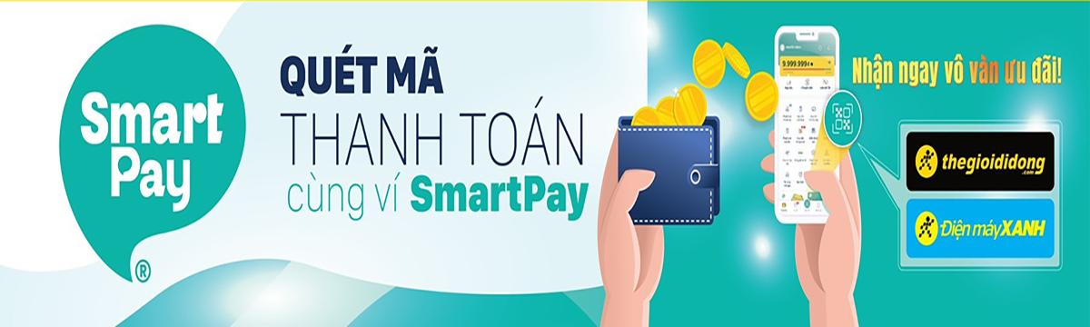 Quét mã thanh toán cùng với ví SmartPay