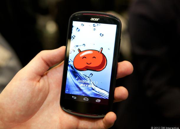 Acer giới thiệu Liquid E1 chạy Android Jelly Bean 4.1.1