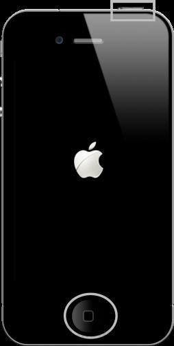 Bấm cùng lúc phím Home và nút nguồn để reset iPhone