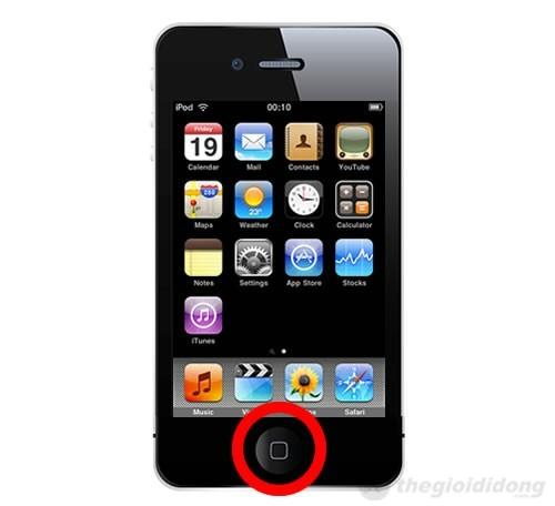 Phím Home của iPhone rất dễ bị lờn